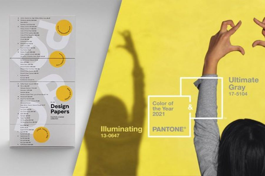Pantone rivela i colori dell'anno 2021: Ultimate Grey e Illuminating